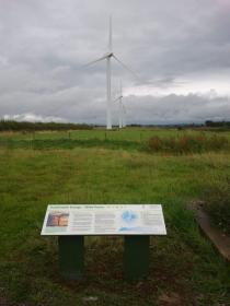 Wind Power - Interpretation Panel