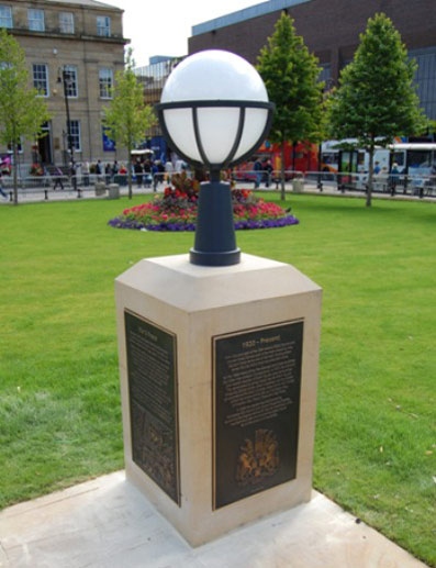 Old Eldon Square - Cast Bronze Interpretation, befitting of the City's War Memorial