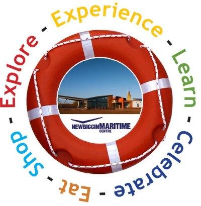 Entrance panel for Newbiggin Maritime Centre