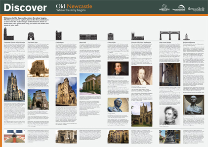 Old Newcastle - where the story begins