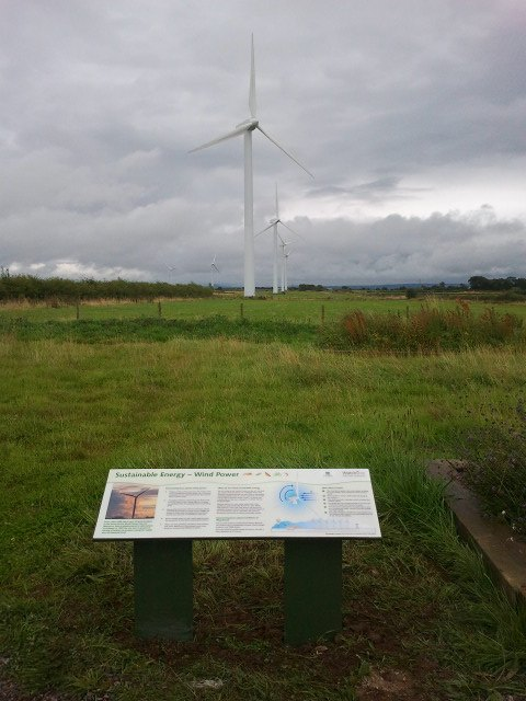 Watchtree Nature Reserve - sustainable energy - wind power